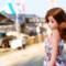 織江さん@海っぴビーチ(2017-08-17)