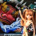 [リカちゃん][くまモン][ねぶた]くまモンリカちゃん@熊本復興ねぶた(2017-09-02)