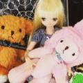 [doll][ぬいぐるみ]ベアフル&タリーズミニテディ&リアン
