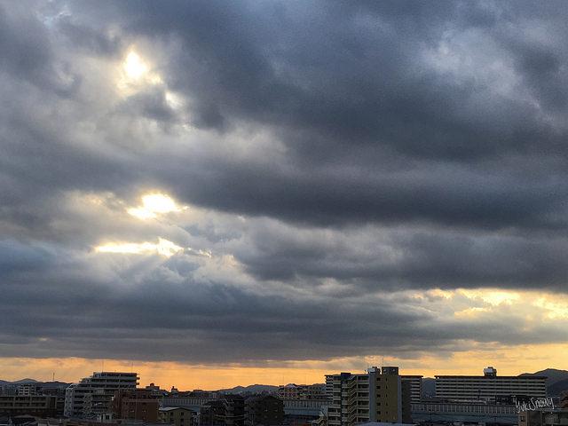 朝焼け(2017-11-16)