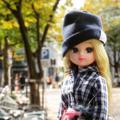 [ドール][リカちゃん][福岡]西天神の交差点あたりにて(2017-11-13)
