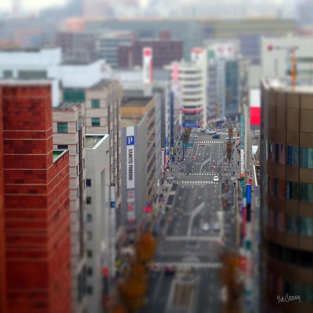 JR博多シティ展望台から(2017-11-29)