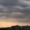 [空][雲][朝焼け]2017-12-20