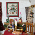 [ミニチュア][クリスマス]ドールハウス