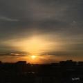 [空][雲][朝焼け]2017-01-03