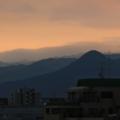 [福岡][山][夕暮れ]2018-01-22