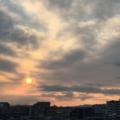 [空][雲][朝焼け]2018-02-08