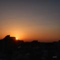 [日の出][空][朝焼け]2018-02-20
