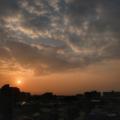 [空][雲][朝焼け][日の出]2018-02-26