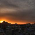 [空][雲][朝焼け][日の出]2018-03-07