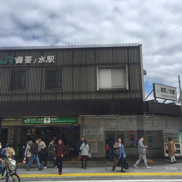 御茶ノ水駅(2018-03-10)