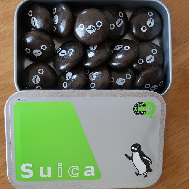 Suicaペンギンチョコレート(2018-03-11)