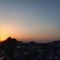 [空][雲][朝焼け][日の出]2018-03-13