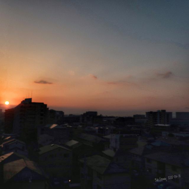 日の出(2018-03-14)