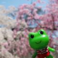 [桜][ケロちゃん]ケロちゃん(2018-03-29)