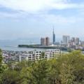 [福岡]愛宕神社から福岡タワー方面(2018-04-05)