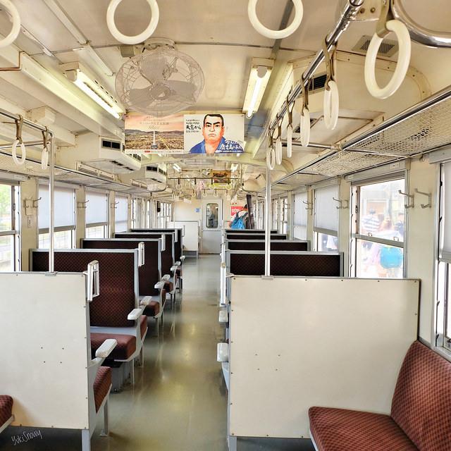香椎線の気動車キハ47 9031@西戸崎駅(2018-05-05)