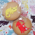 [猫][菓子]アイシングねこクッキー