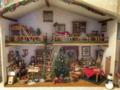 [ミニチュア][ドールハウス]クリスマスの家(2018-06-20)