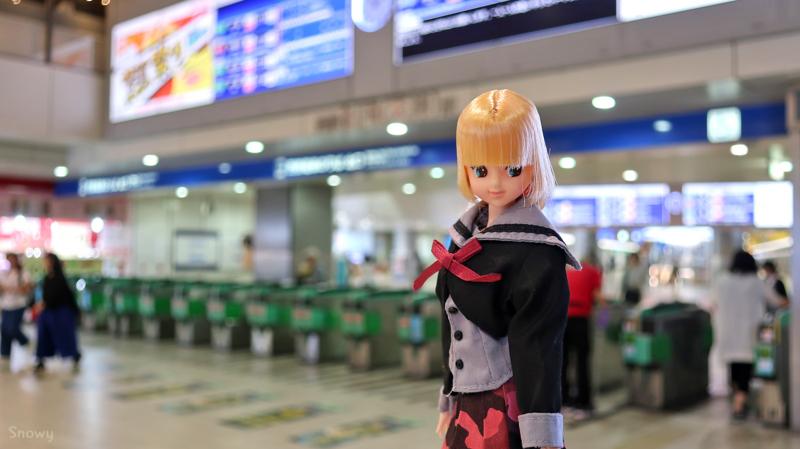 西鉄福岡駅(2018-06-14)