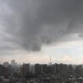 [空][雲][東京]夕立(2018-08-13)