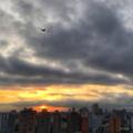 [空][雲][東京][朝焼け][日の出]2018-08-14