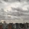 [空][雲][東京]日本海に台風20号がいる朝(2018-08-24)