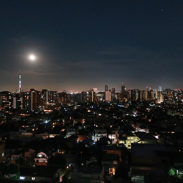 満月の夜(2018-08-26)