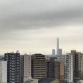 [空][雲][東京]スカイツリーも見えない朝(2018-08-28)