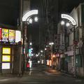 [東京][夜景][街角]巣鴨駅南口一番街(2018-08-29)