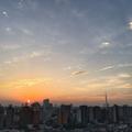 [空][雲][東京][朝焼け][日の出]日の出(2018-09-06)
