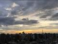 [空][雲][東京][逆光][朝焼け](2018-09-07)