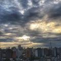 [空][雲][東京][逆光][朝]2018-09-19