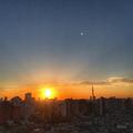 [空][雲][東京][逆光][朝]2018-10-02