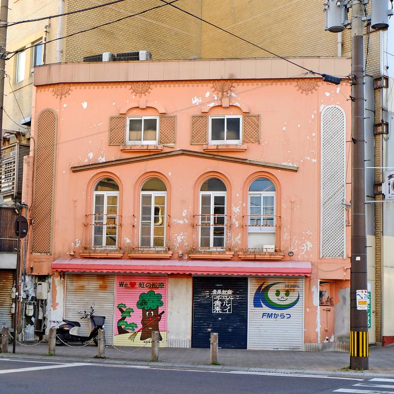 唐津市中町商店街(2016-11-07)
