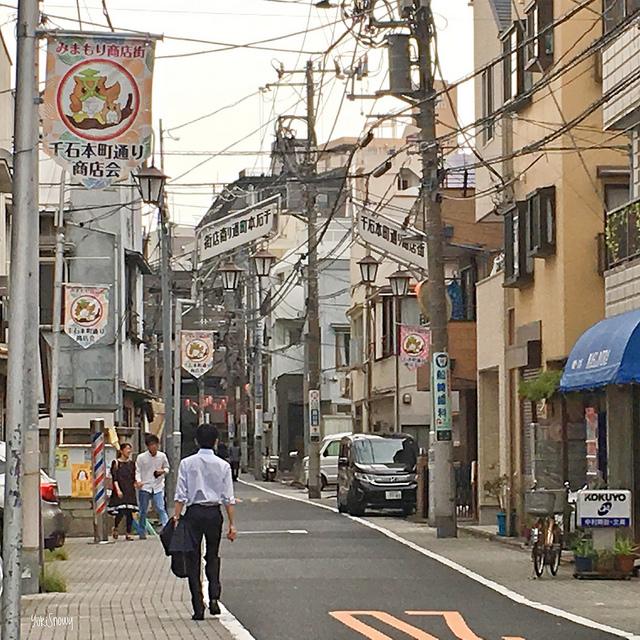 千石本町通り商店街(2018-10-17)