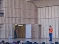 [game][Ingress][イベント]挨拶するジョン・ハンケ氏@Darsana(2014-12-13)