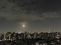[空][雲][東京][月][夜景]2018-10-25
