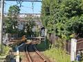 [線路][江ノ電][電車]江ノ電の線路(2018-09-28)