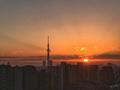 [東京][朝][太陽][逆光][朝焼け][日の出](2018-11-30)