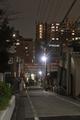 [東京][街角][公園][夜景]音羽パークロード600(2018-11-28)