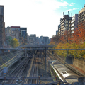 [線路][電車][秋][東京]巣鴨橋から山手線(2018-12-04)