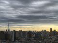 [空][雲][東京]カルマン渦?環八雲?(2018-12-05)