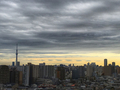 [空][雲][東京][波状雲]波状雲。カルマン渦?環八雲?(2018-12-05)