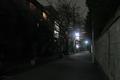 [東京][街角][路地][夜景]関口(2018-11-28)