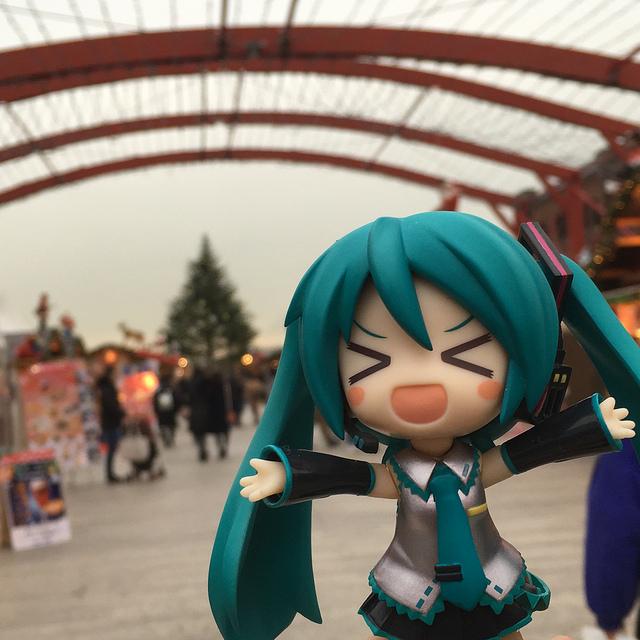 初音ミク@横浜赤レンガ倉庫クリスマスマーケット(2018-12-11)