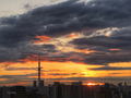 [空][雲][東京][朝][日の出](2018-12-13)