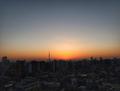 [空][雲][東京][朝][日の出](2018-12-21)