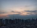 [空][雲][東京][朝]冬至の朝(2018-12-22)