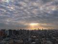 [空][雲][東京][朝][天使の梯子](2018-12-23)